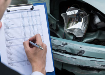 Car Accident with Insurance Adjuster