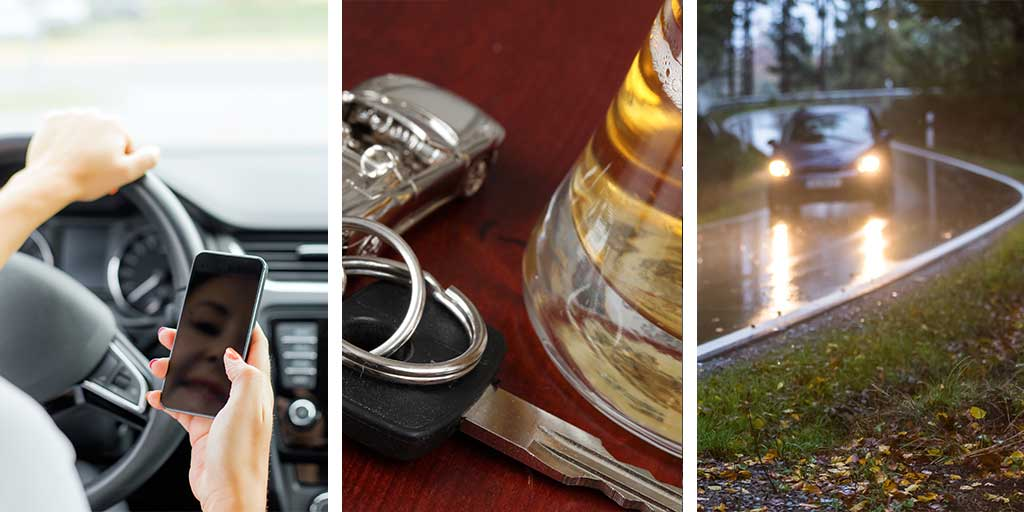 causes for automobile accidents